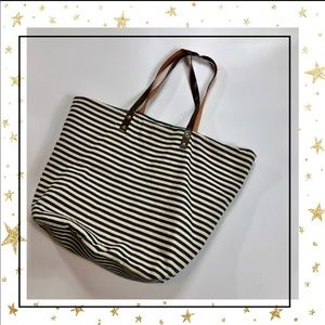 Forever 21 Totes Striped Bag